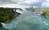 Storm over Niagara Falls