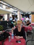 Cafe in Cagliari, Sardinia (Italy)