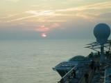 Sunset @ Sea