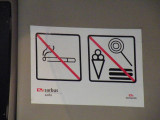 No Smoking or.... Hot Dogs, Ice Cream or Lollypops. Huh??????