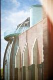 Bonnefantemuseum through the curtains