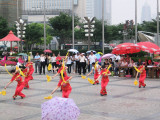 Fan dancing competition, Shanghai