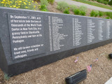 Pentagon Memorial to September 11, 2001