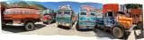 Sonamarg Departure Pen Trucks (31 May 2011)