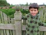Tackling the Blenheim Palace hedge maze