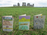 Three Small Books visit Stonehenge in July of 2011