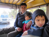On the way to a village with Nazir Uncle and Koko