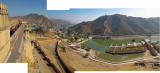 View from Amber Fort, Jaipur (23 Jan 2012)