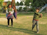 Baseball badminton