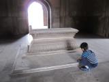 Inside Safdarjung Tomb