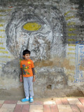 Rare Delhi grafitti