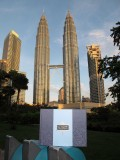 October 2011:  ACME 20 visits the Petronas Towers in Kuala Lumpur ... and is mightily impressed!