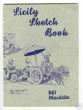 Sicily Sketch Book (not in my collection)