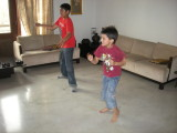 Xboxing with second cousin Krishnav