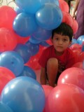 Balloon fort!