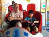 With Nanu on a roller coaster