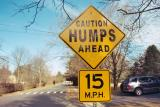 Caution Humps Ahead