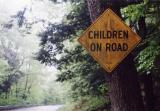 Children On Road (Montgomery MA)