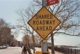Shared Roadway Ahead