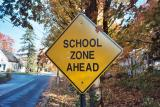 School Zone Ahead (Amherst, MA)
