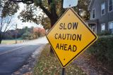 Slow Caution Ahead (Turners Falls, MA)