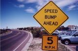 Speed Bump Ahead (White City, NM)