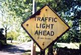 Traffic Light Ahead (Stonington, CT)