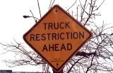 Truck Restriction Ahead