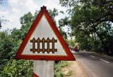 Picket Fence Ahead (near Hardiwar)