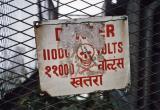 Danger 11000 Volts (Mussourie)