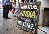 Road Atlas Of India With Distance (Mussourie)