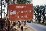 Railroad Crossing (near Dehra Dun)
