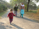 Running in the National Zoo