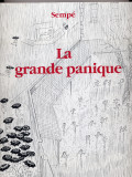 La grande panique (1975) (inscribed with original drawing)