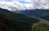 Toutle River valley with St Helens