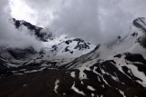 St Helens. Looking straight into the crater.