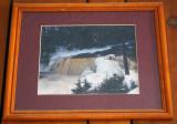 Winter at Tahquamenon Falls