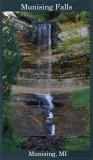 Munising Falls Framed