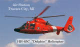 HH 65c Dolphin Helocotper  air station Traverse City