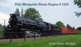 Pere Marquette Steam Engine 1223