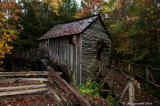Old buildings, cabins and structures