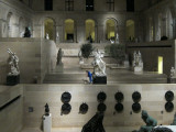 The Louvre after closing time