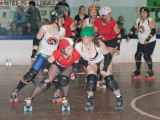 Abbotsford Kiss Me Deadlies vs Rated PG Roller Girls