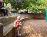 Edgerly Road Playground stoning & destoning