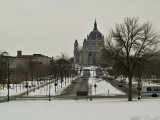 Saint Paul Cathedral from the Capitol Build