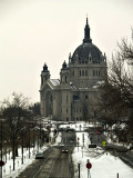 Saint Paul Cathedral from the Capitol Building