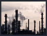 Refinery Against a Winter Sky