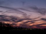 Sunset over MSP