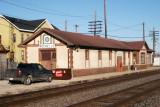 Chicago, Burlington & Quincy Depot, Eastbound view,  Rochelle, Illinois