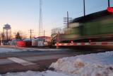 Missing Chicago, Burlington & Quincy Depot, Rochelle, Illinois